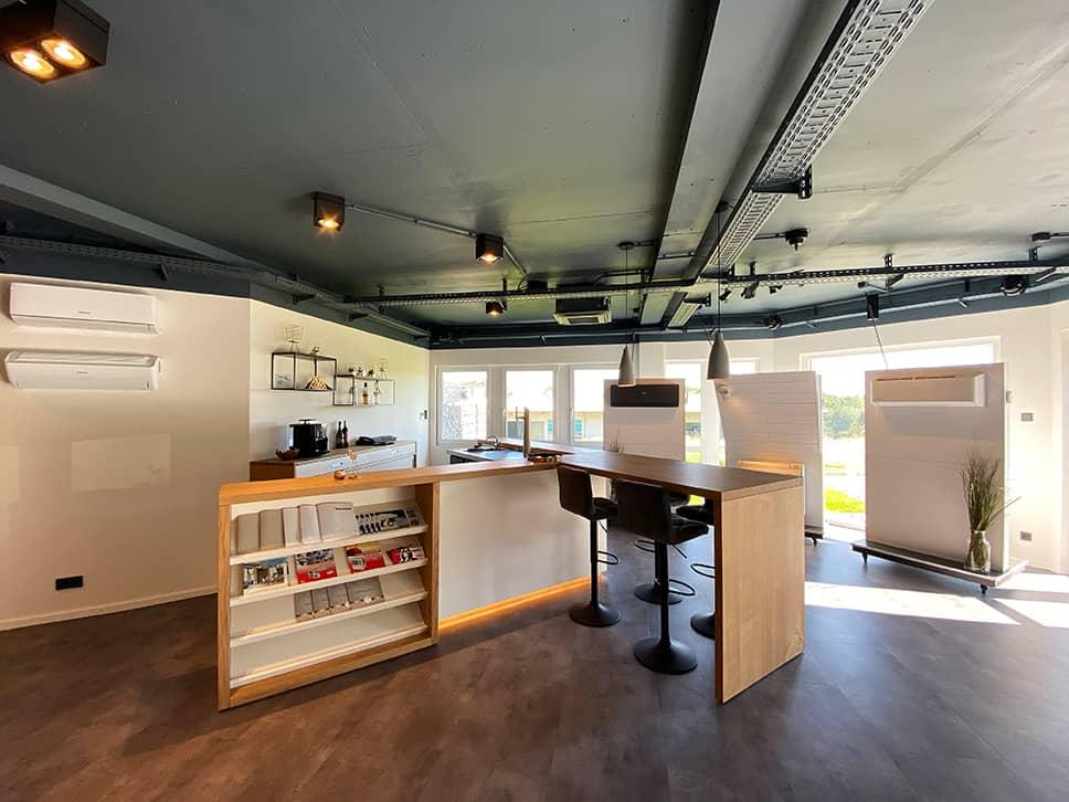 Ausstellungsraum der Firma Beichler Kälte- & Klimatechnik GmbH